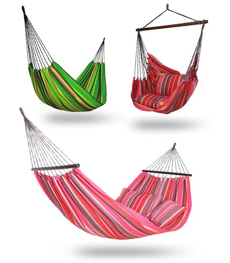 Une grande variété de couleurs de nos produits vous permettra de choisir un hamac parfait pour votre intérieur ou votre jardin.